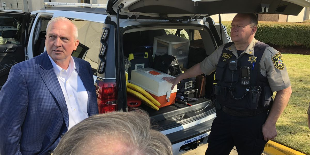 Tuscaloosa County Sheriff's deputies request equipment to expand emergency medical services