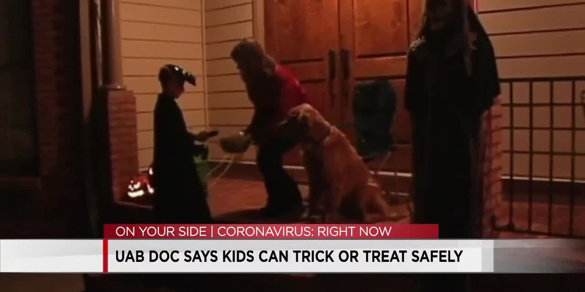 UAB doctor says kids can trick-or-treat safely
