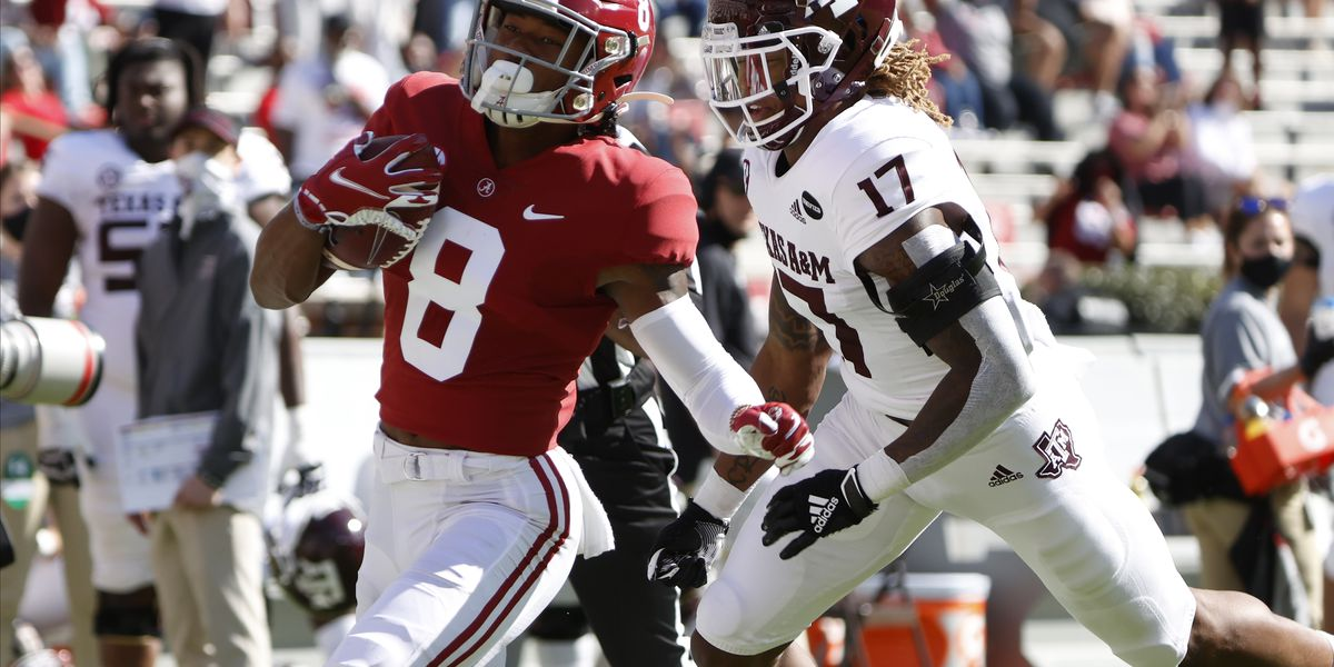 Alabama offense sails over Aggies in home opener