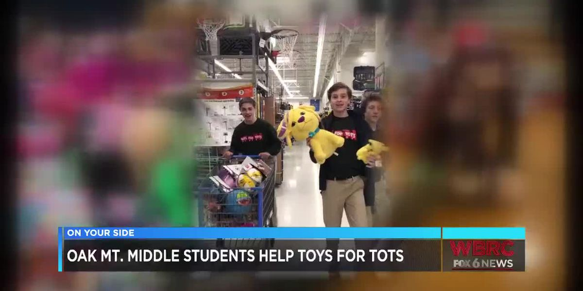Oak Mtn raises money for Toys for Tots