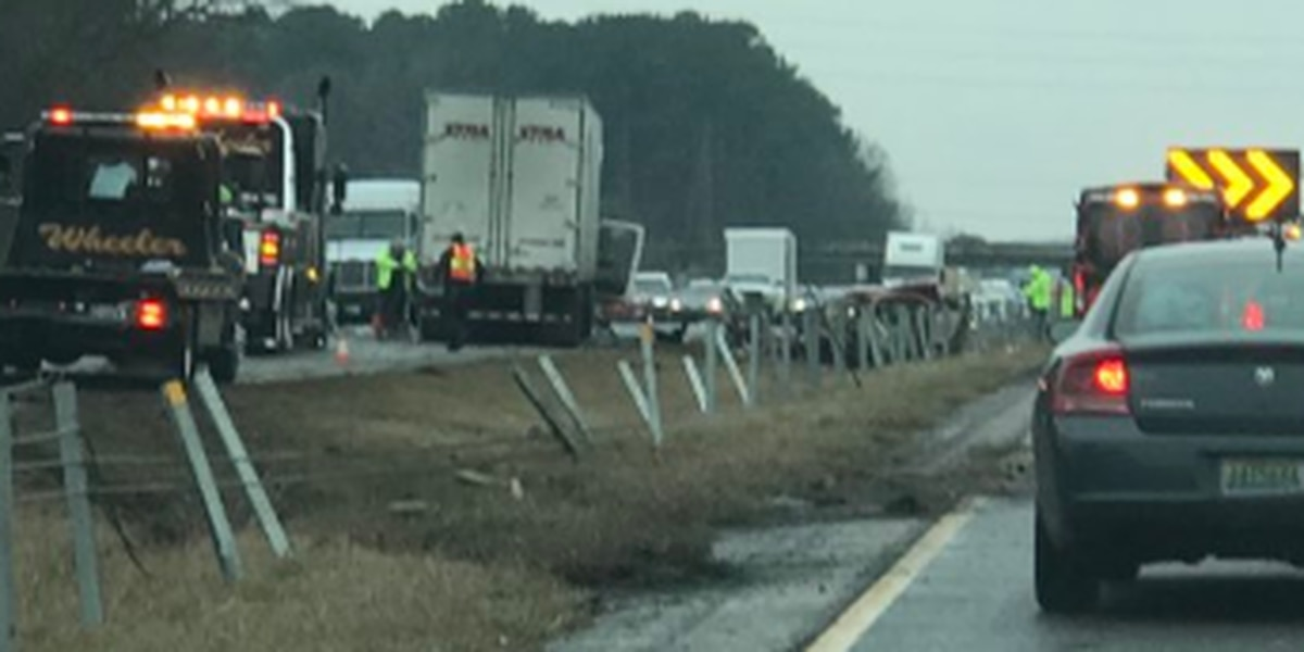 FIRST ALERT TRAFFIC: All NB, SB lanes reopened on I-59/20 near Academy Drive following crash