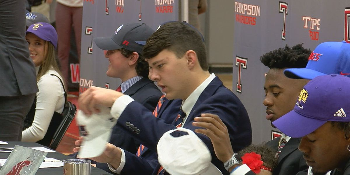 Thompson holds National Signing Day ceremony