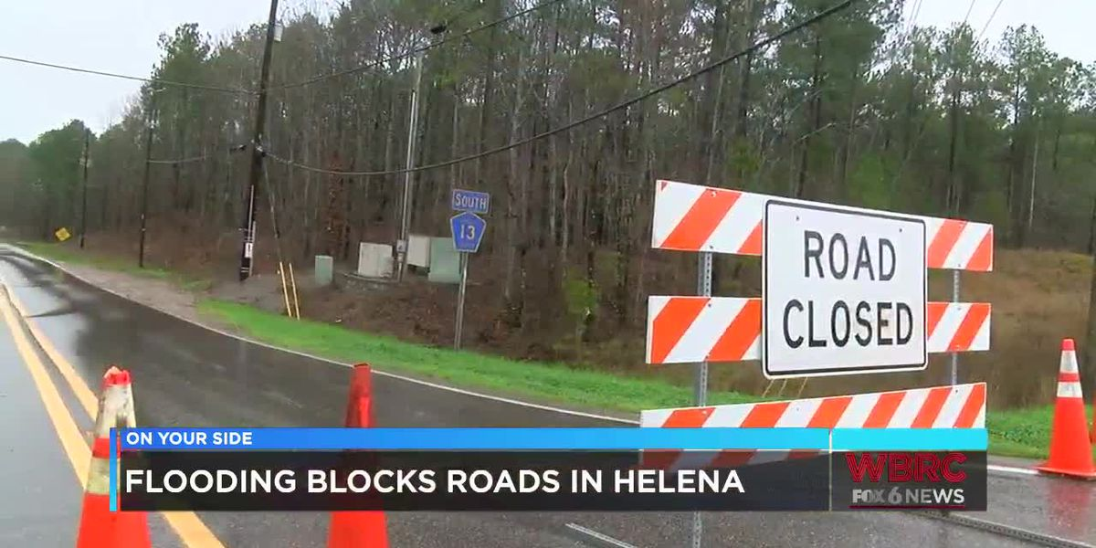 Highway 13 still closed in Helena after flooding
