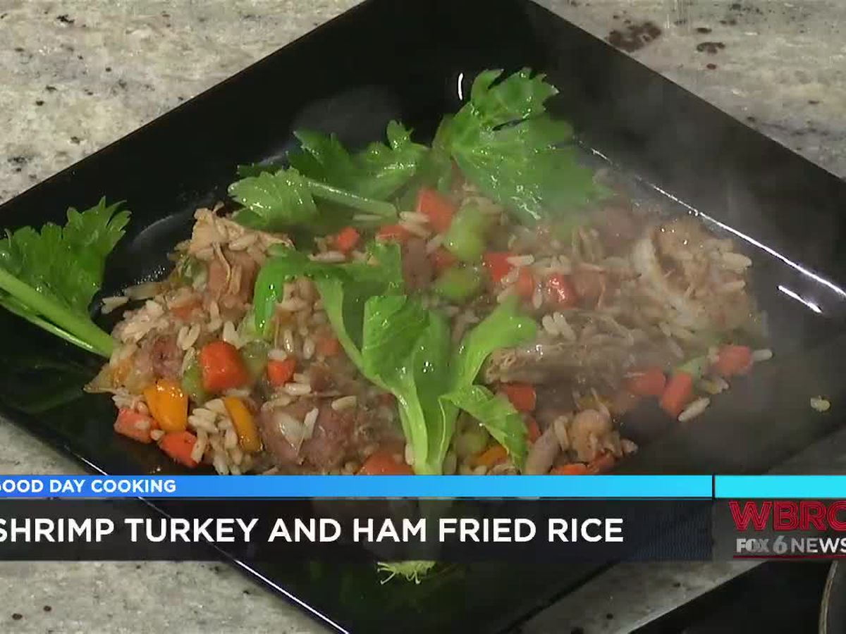UAB Chef Donnell Johnson: Shrimp, turkey & ham fried rice