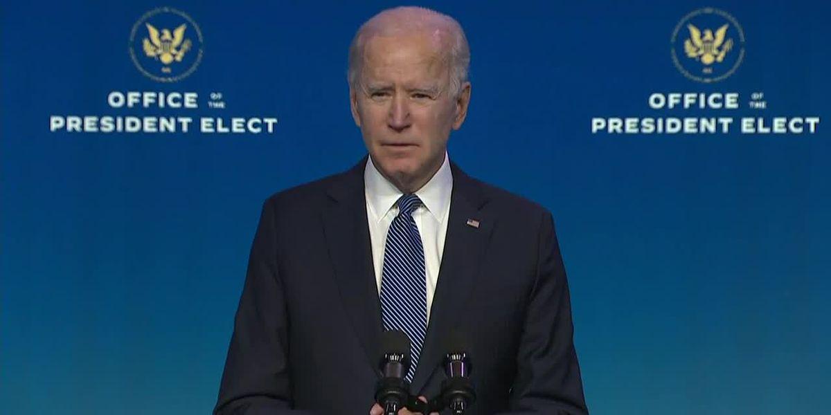 Biden unveiling $1.9 trillion coronavirus plan to speed vaccine rollout, steady economy, reopen schools