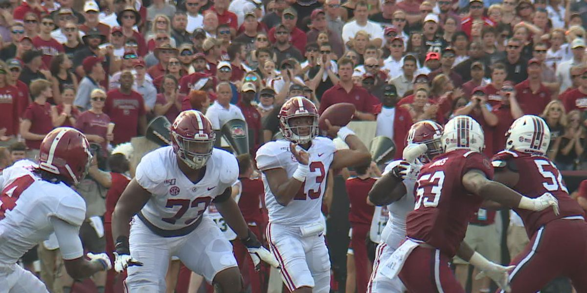 Tide's offense soars after record-setting day by QB Tua Tagovailoa