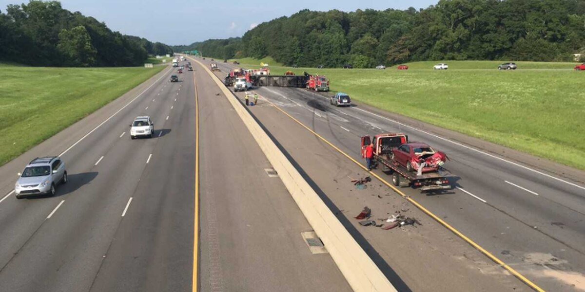 I-459 NB lanes reopened near Grants Mill Road