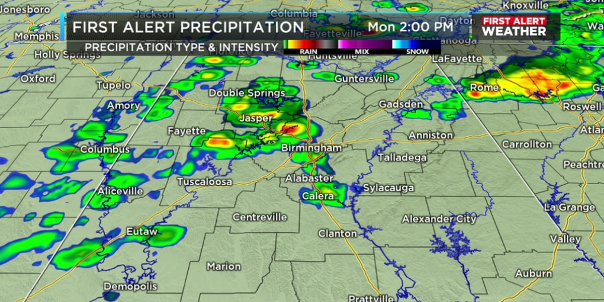FIRST ALERT: Tracking showers and storms this evening, some may become severe