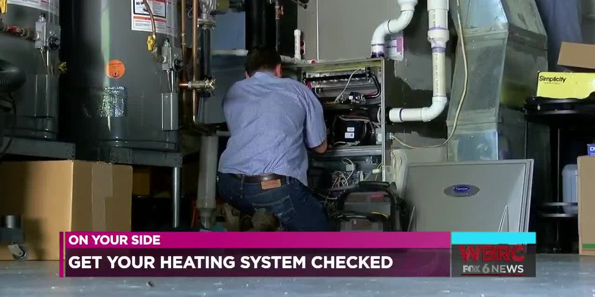 Get your heating system checked