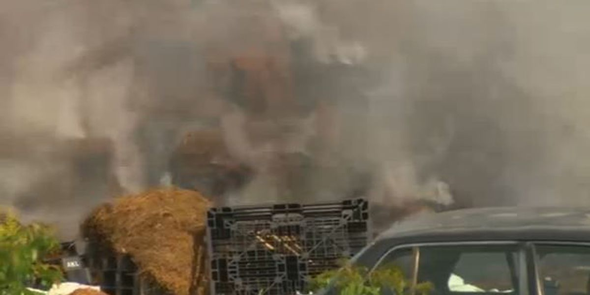 Clare Huddleston has the latest at 5 a.m. on a Chelsea pine straw fire that's still burning