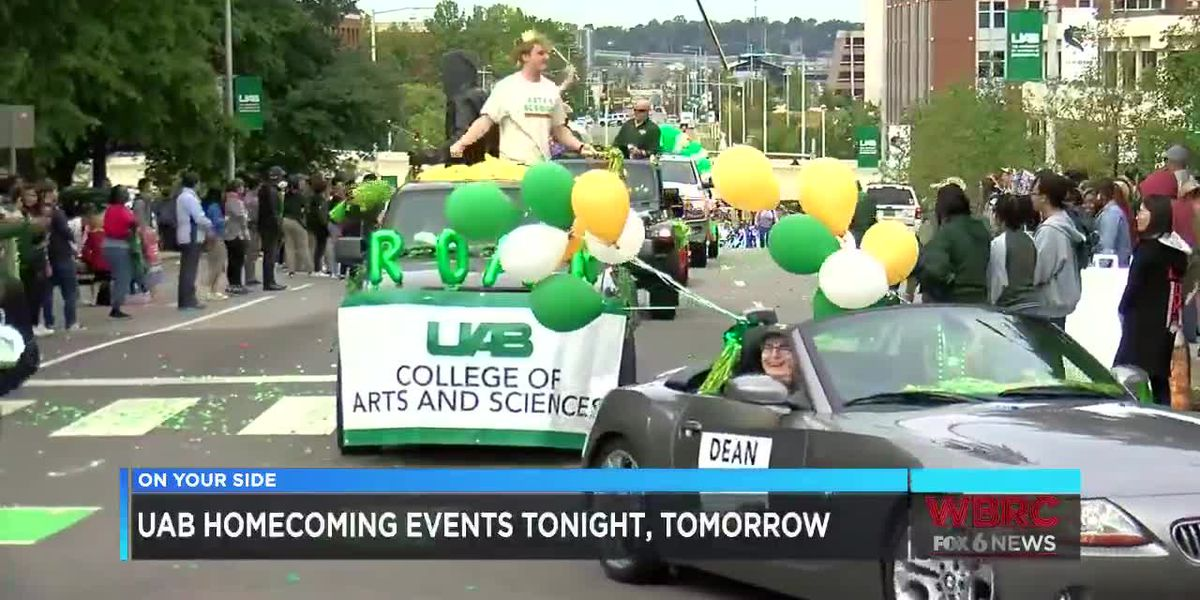 UAB Homecoming events