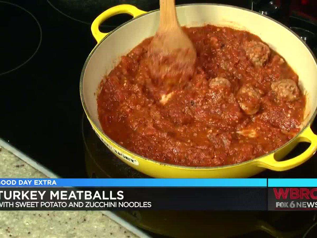 Jennifer Frudaker: Turkey Meatballs