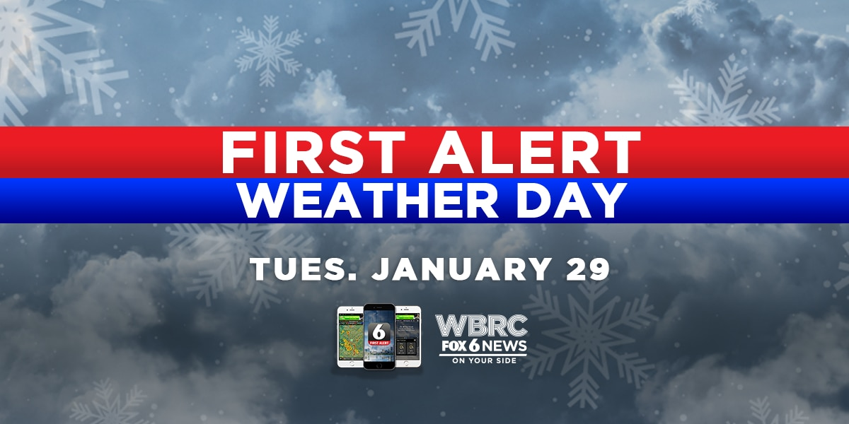 FIRST ALERT Winter Weather Central: Tuesday, Jan. 29th