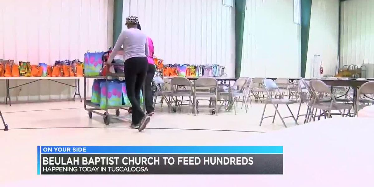 Beulah Baptist Church to feed hundreds in Tuscaloosa