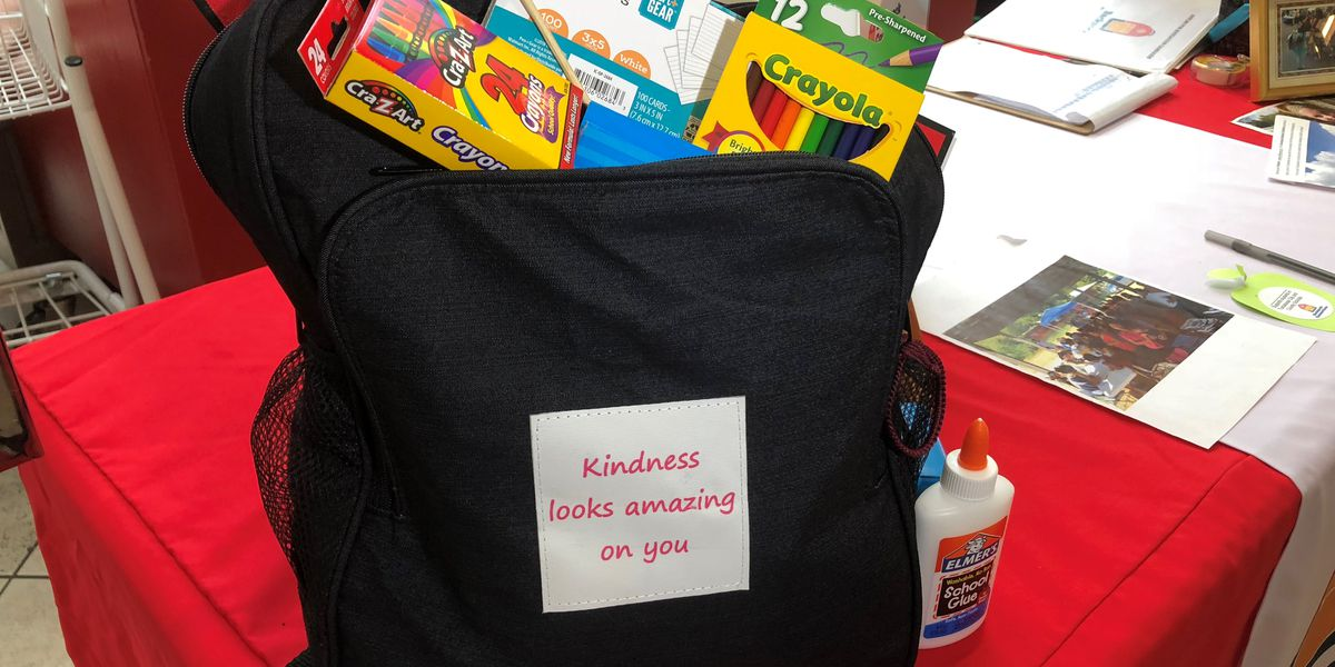 Backpack Connections Tuscaloosa organizes school supply drive for kids