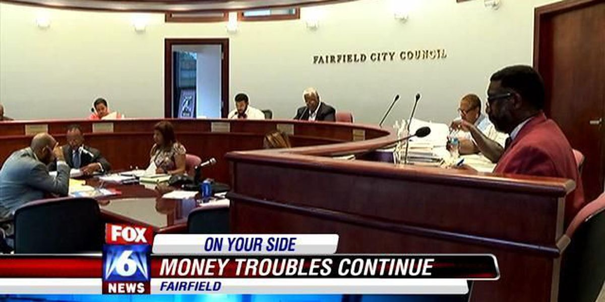 Financial troubles continue for Fairfield city leaders.