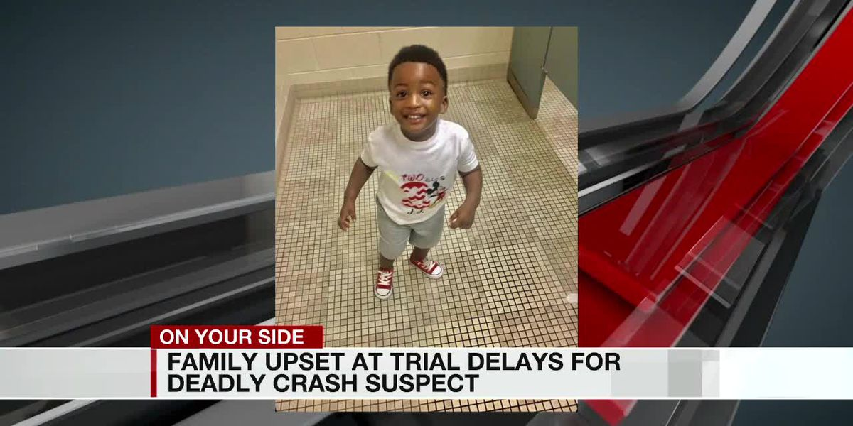 Family upset at trial delays for deadly crash suspect