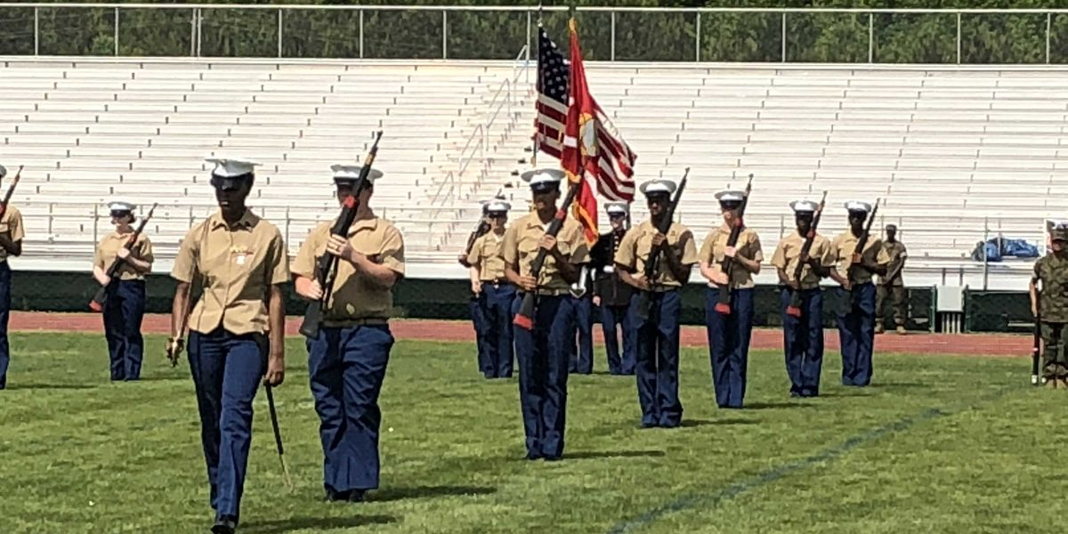Bryant High Junior ROTC program held Thursday