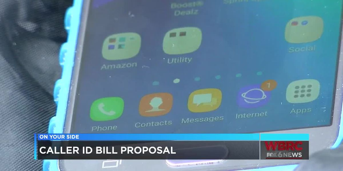Caller ID bill proposal