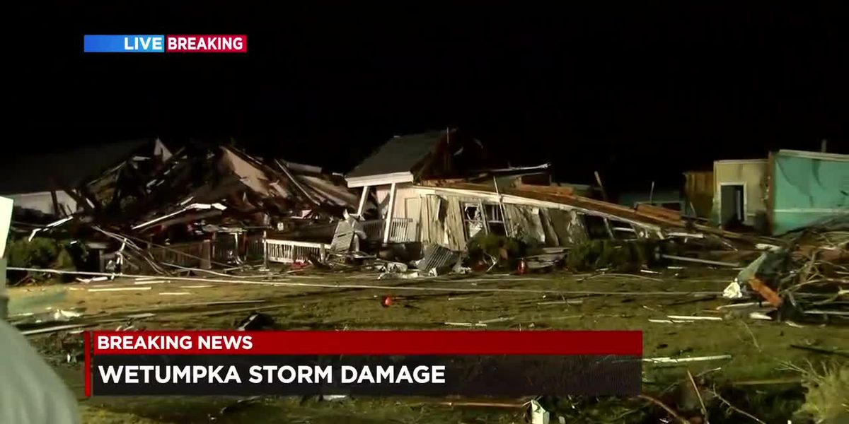 Curfew set after storm damages Wetumpka