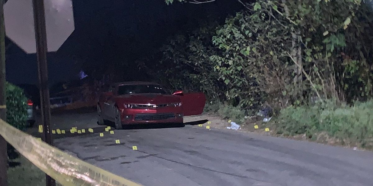 Man shot inside car riddled with bullet holes in Brighton
