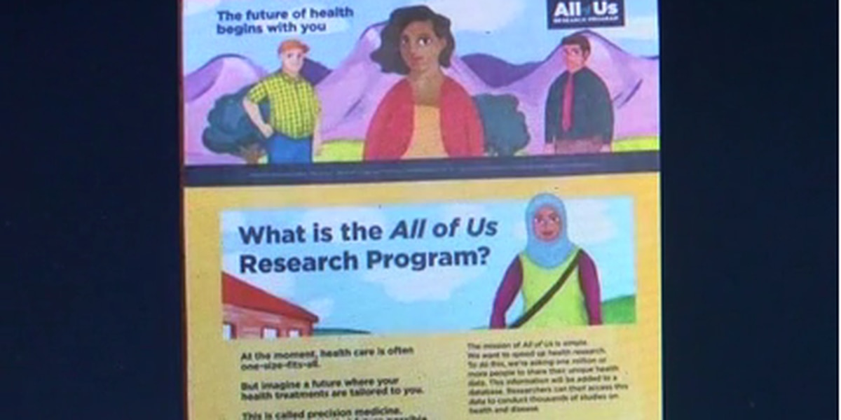 """All of Us"" research program looks to diversify research pool"