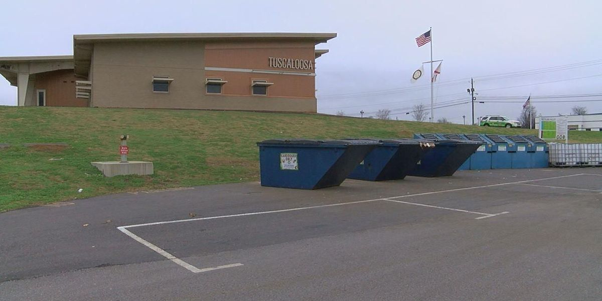 Free holiday garbage & recycling drop-off event in Tuscaloosa Saturday