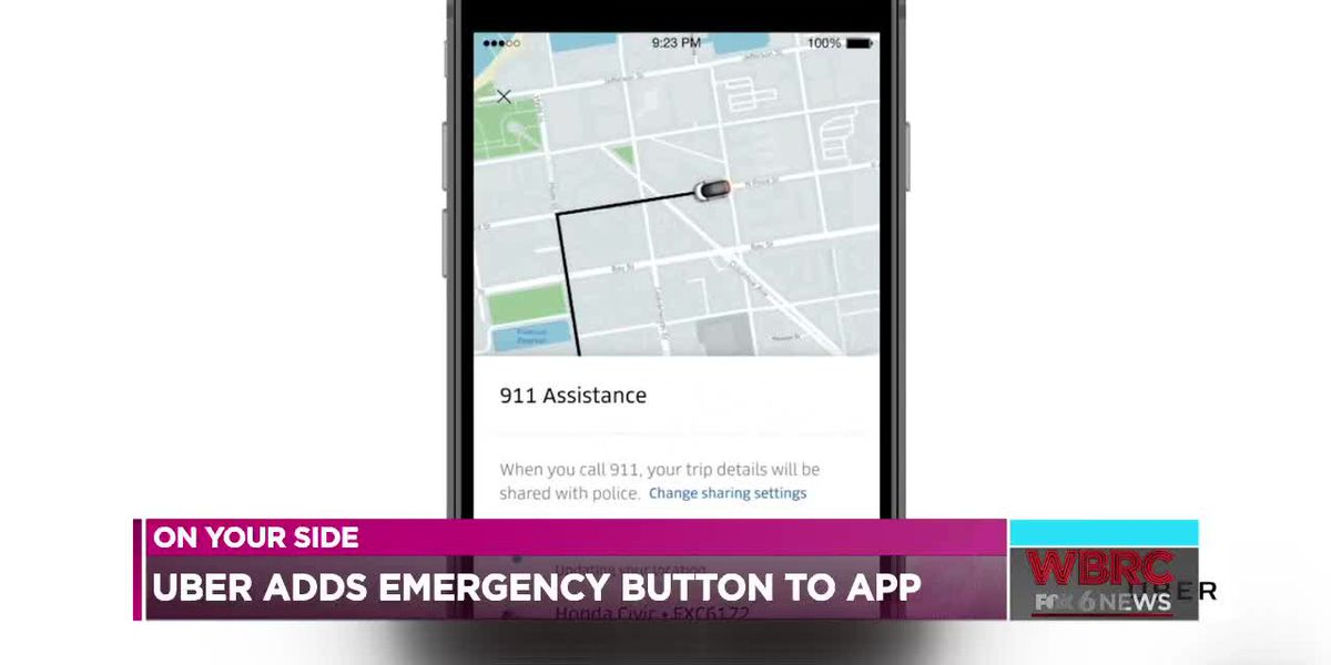 Uber adds emergency button to app