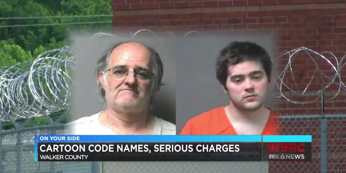 Cartoon code names, serious charges