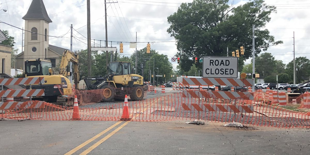 Tuscaloosa road improvement projects frustrate some drivers