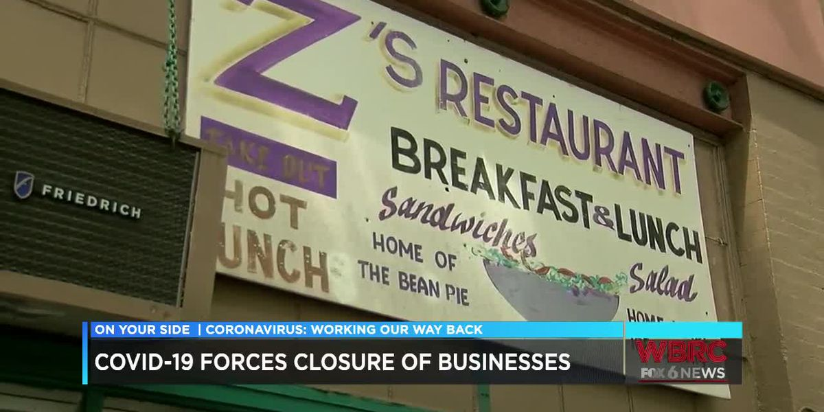 Coronavirus forcing some businesses to close for good