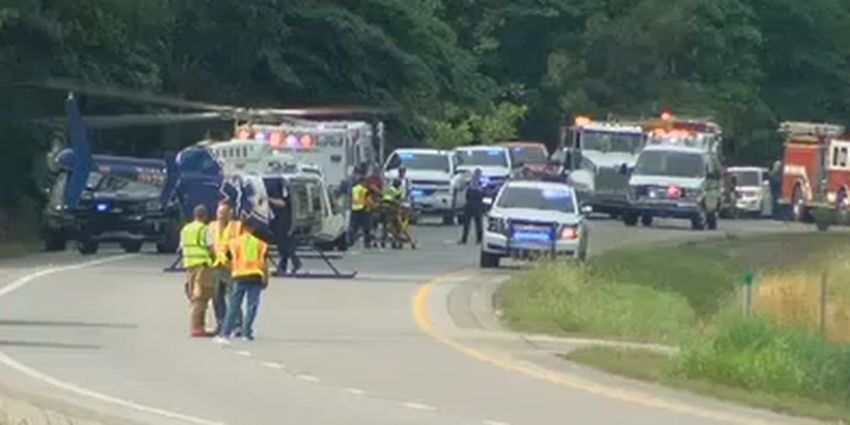2 adults airlifted to UAB in bad wreck on Hwy 431