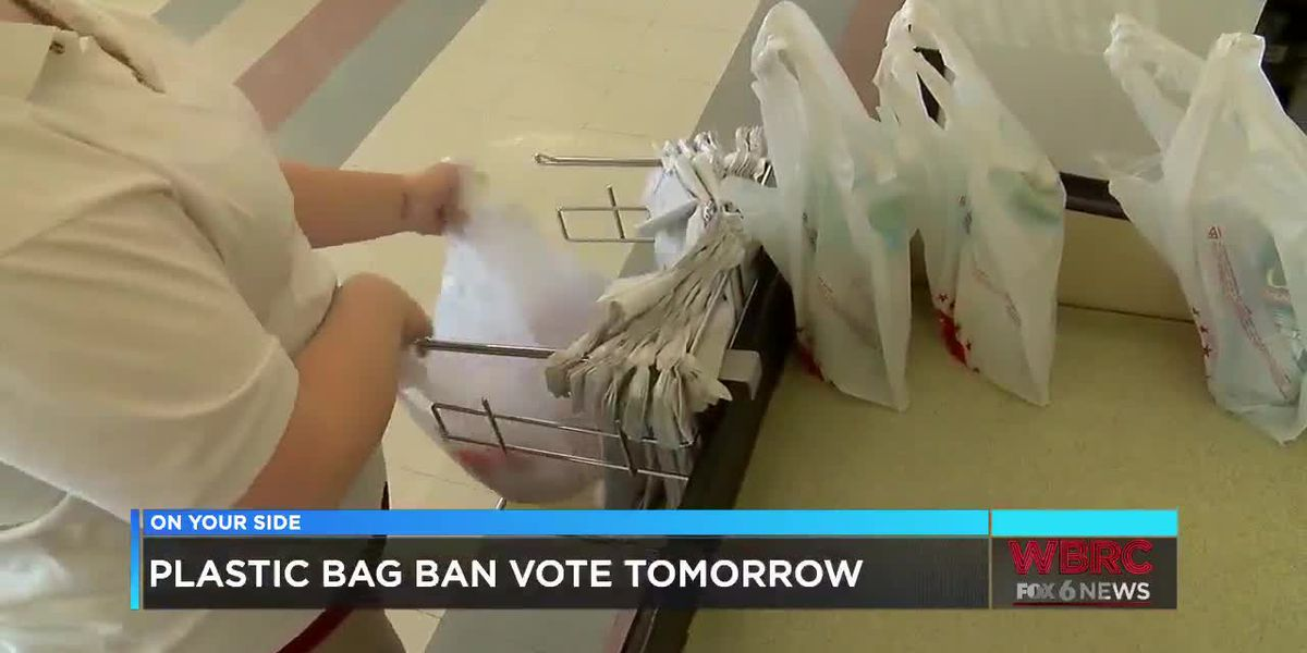 Plastic bag ban vote expected Tuesday