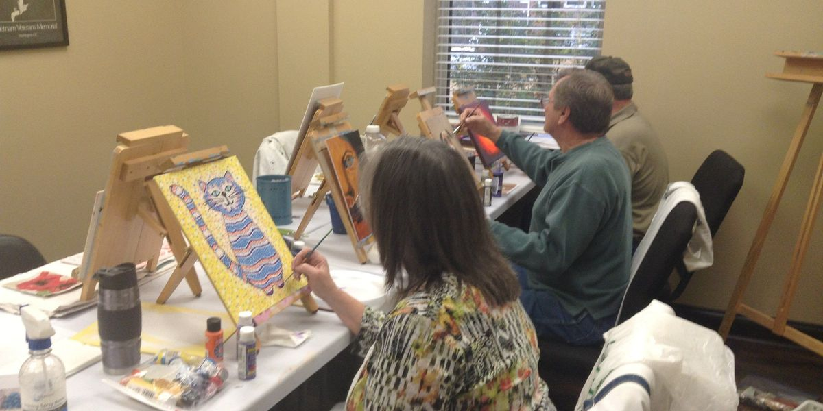 Healing through painting: Art Therapy offered at Birmingham Vet Center
