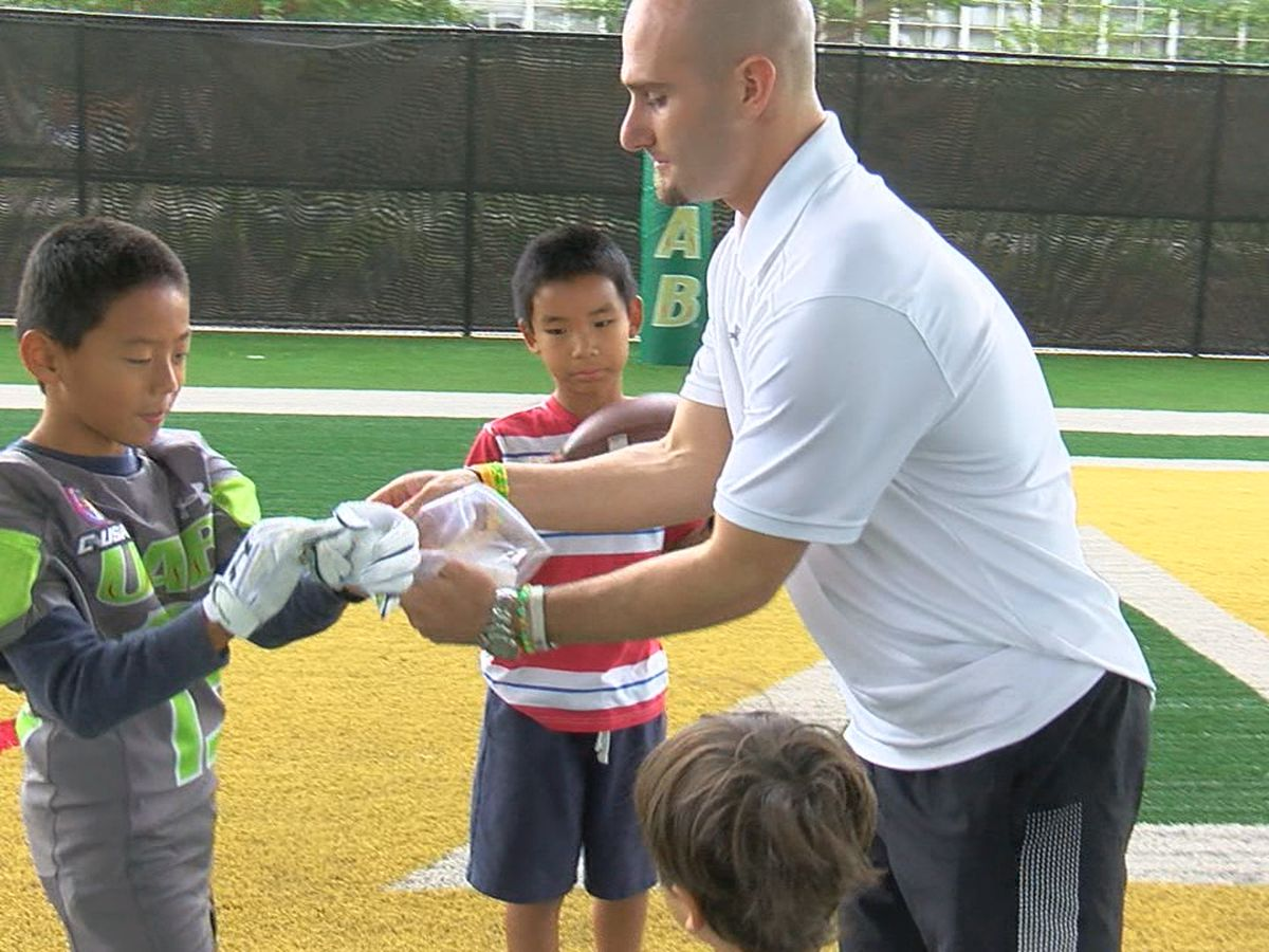 More than a Game: Children's Harbor patient reunites with former UAB player