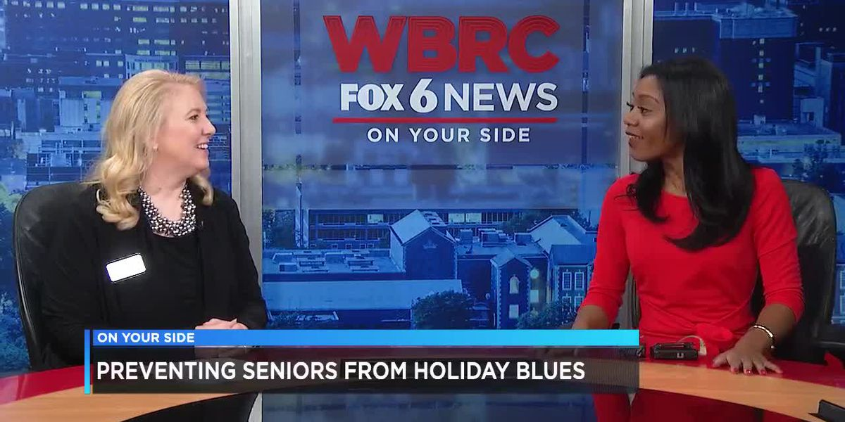 Preventing seniors from holiday blues