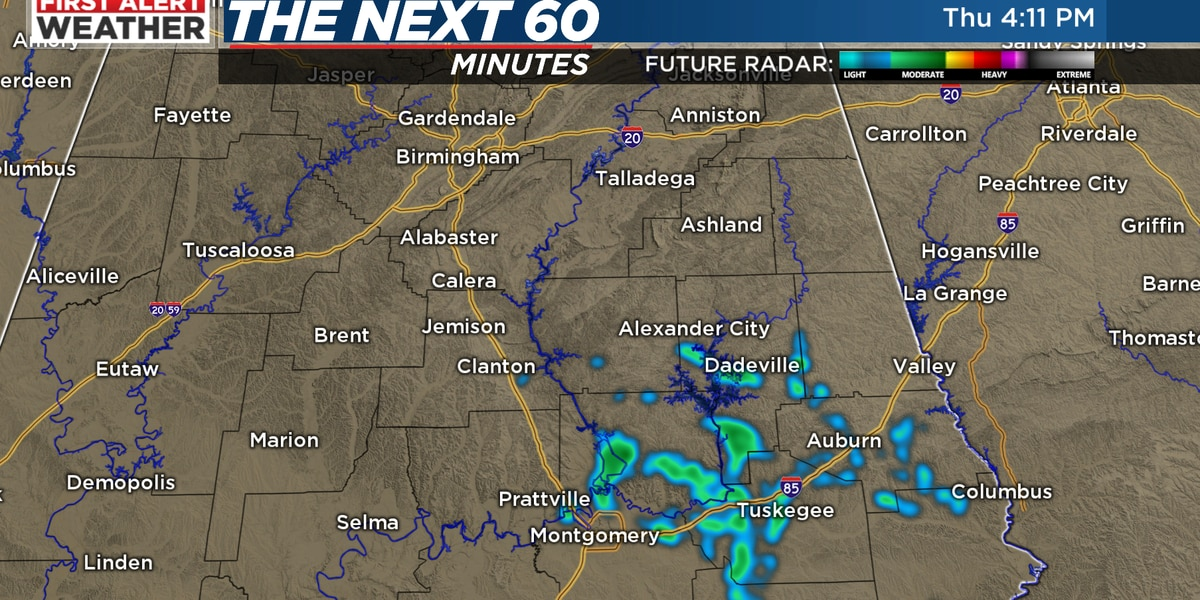 FIRST ALERT: Slightly higher rain chances Friday