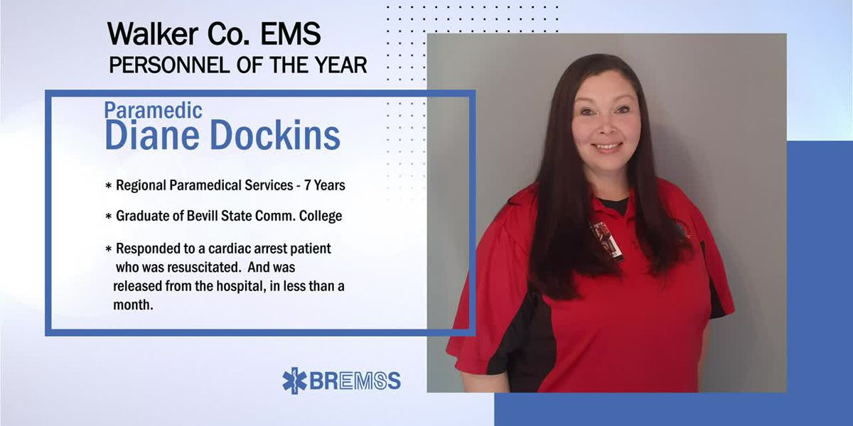 BREMSS Emergency Medical Personnel of the Year: Diane Dockins