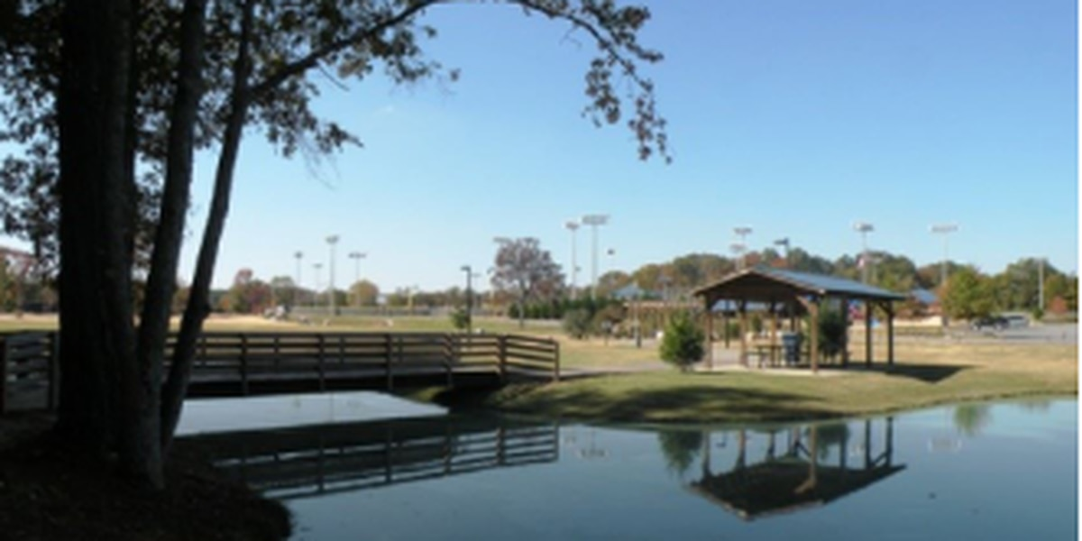 Controlled burn at Veterans Park in Alabaster to prepare for park expansion