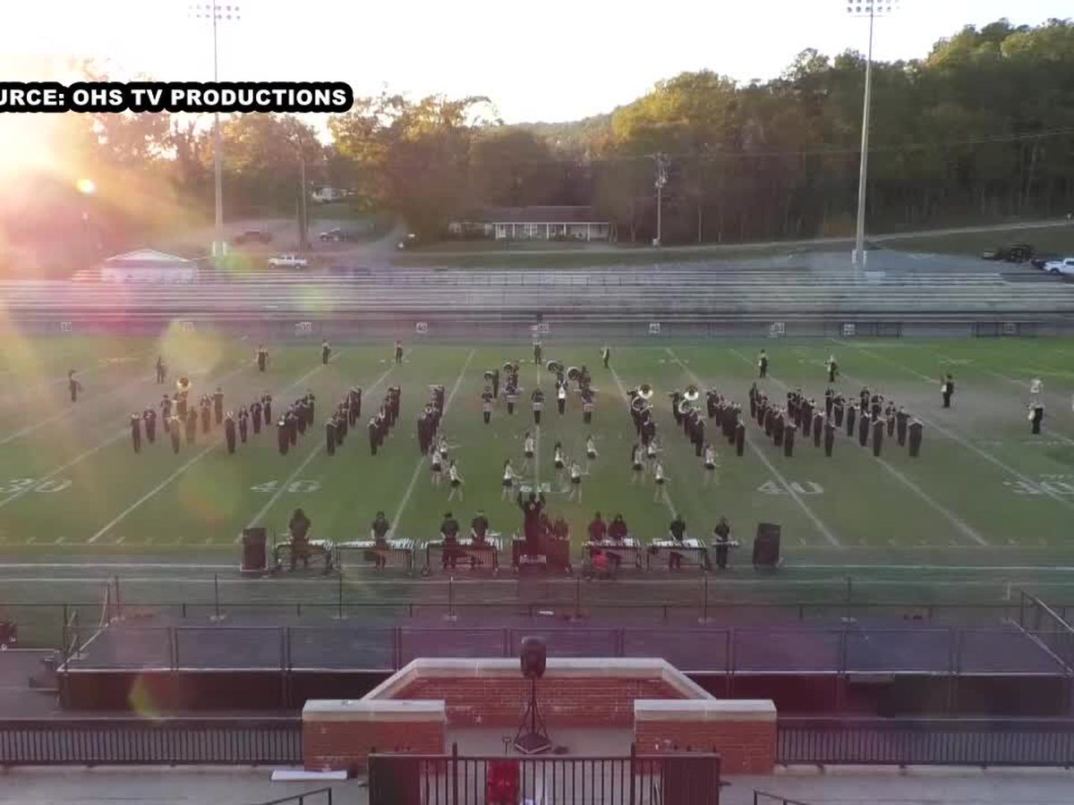 At Oxford H.S. the marching band is king in 2020