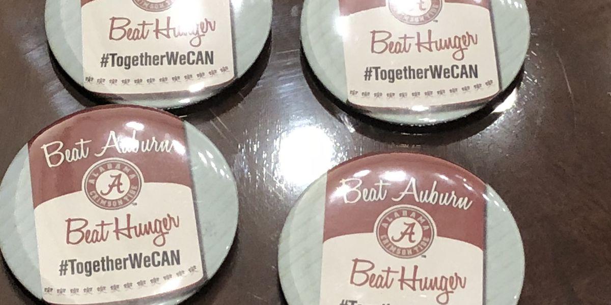 Beat Auburn Beat Hunger food drive starts in Tuscaloosa