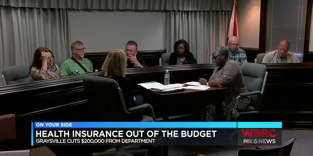 Health insurance out of the Graysville budget