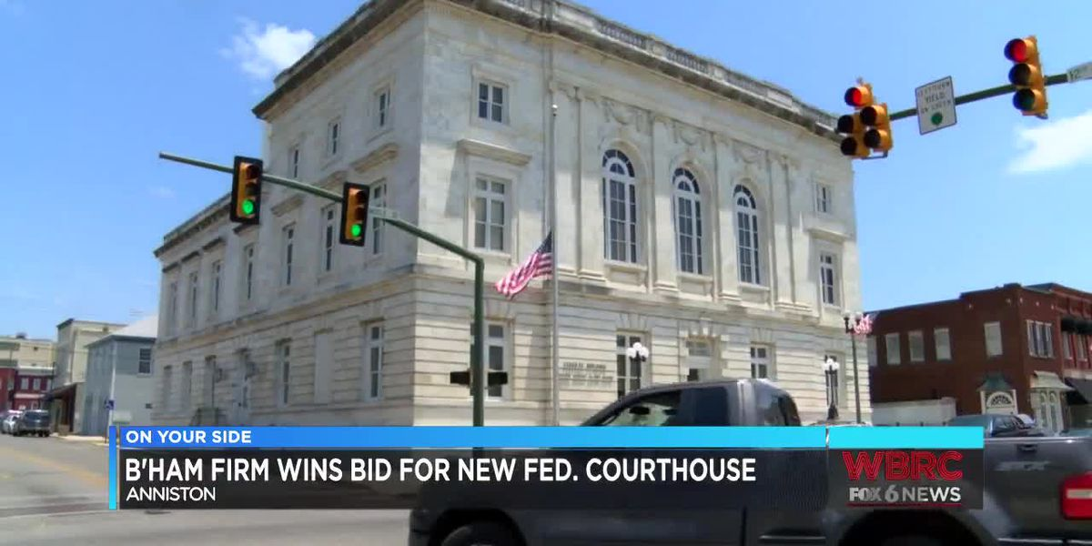 Birmingham firm to build federal courthouse in Anniston