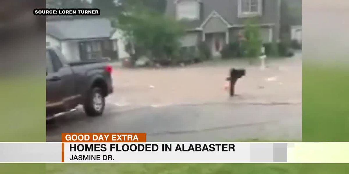 Alabaster community cleaning up, drying off after Tuesday's storm