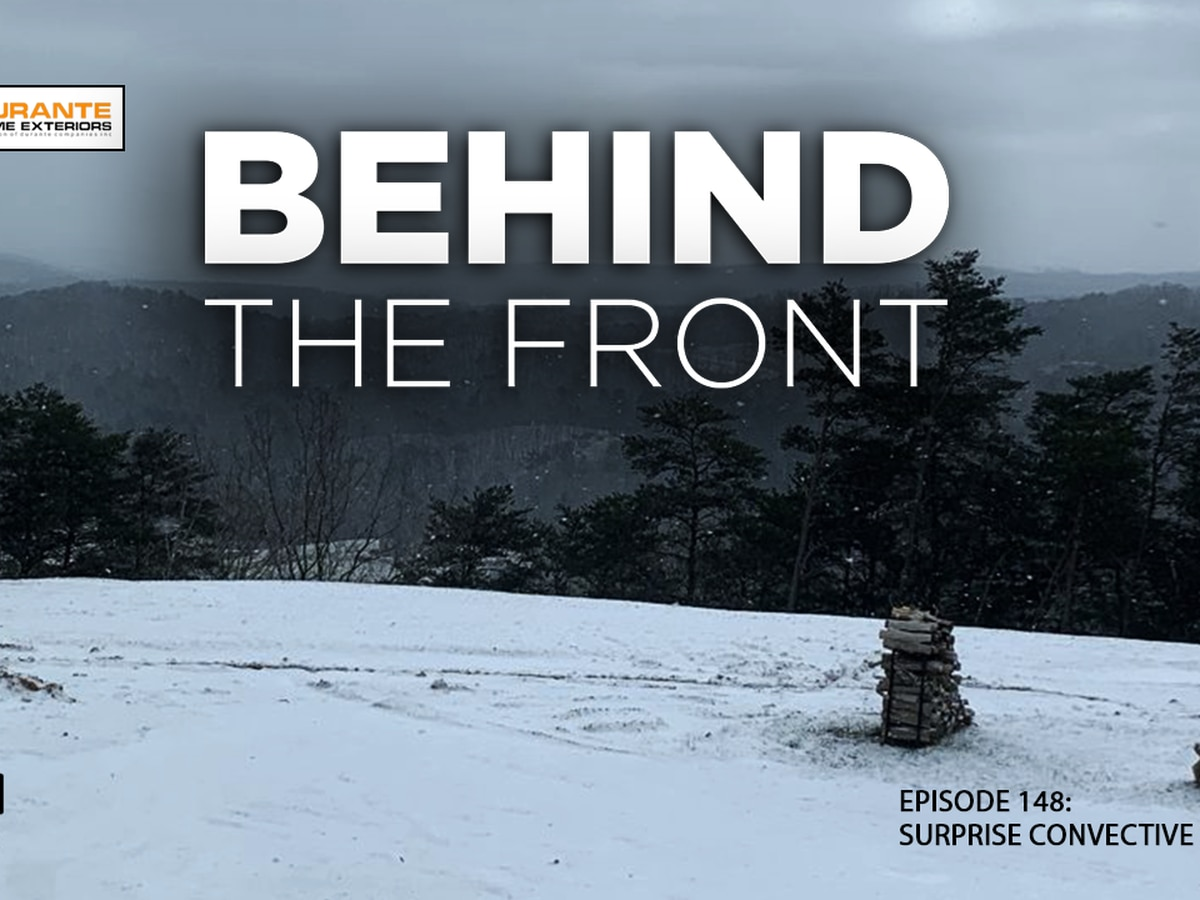Behind the Front: Surprise Convective Snow