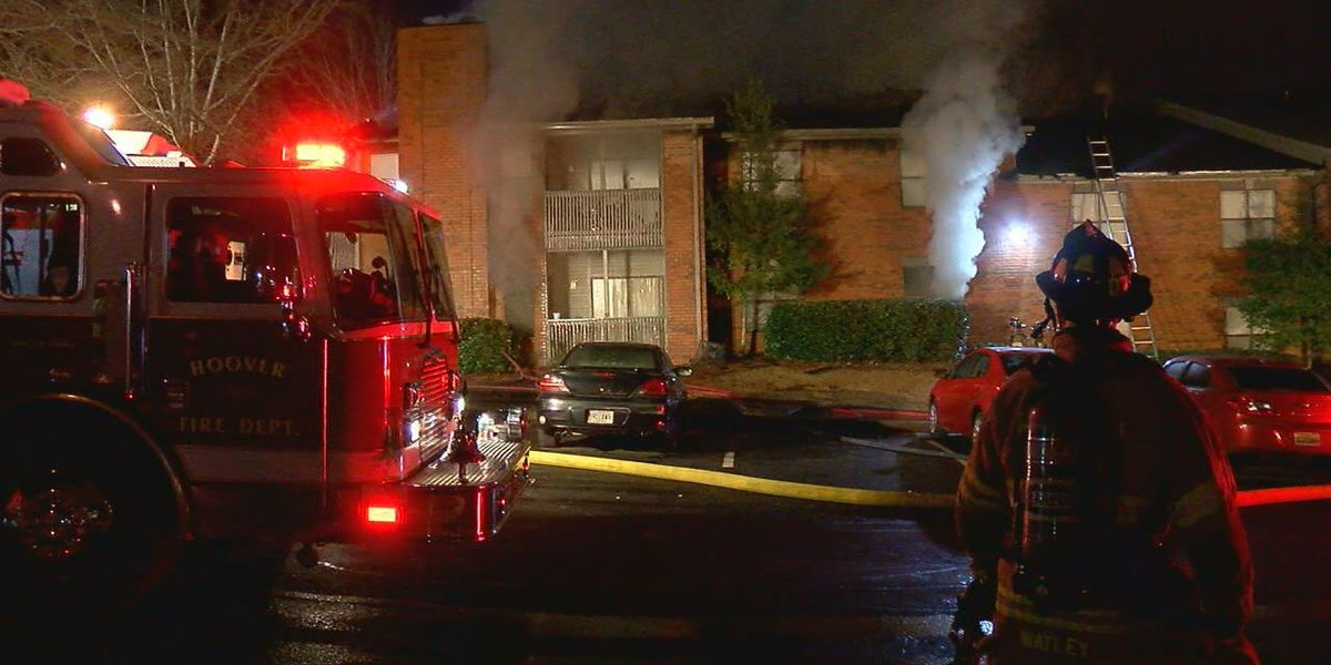 Hoover elementary school helps students, families displaced in apartment fire