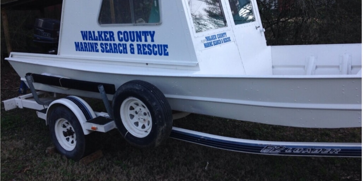 Four boats and equipment stolen from volunteer rescue squad in Walker County