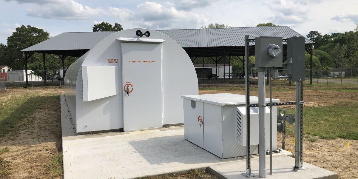 New storm shelter shown off in Calhoun Co.