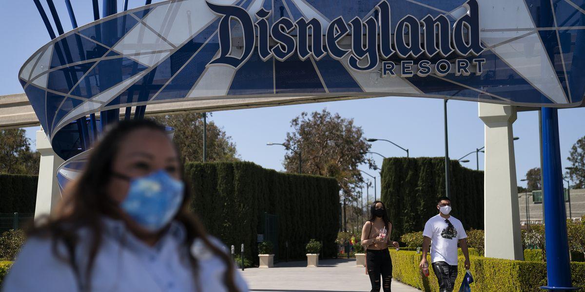 Disneyland reopens as California emerges from virus depths