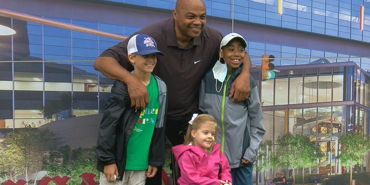 Charles Barkley makes Children's Hospital patient's 'dream come true'